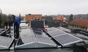 Nijmegen - 5 kWp in Oost-West opstelling