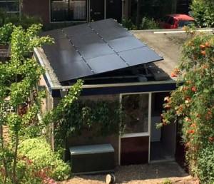 Malden - zonneschans 3,2 kWp