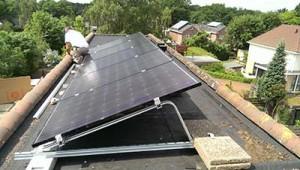 Nijmegen - onderdeel 2 kWp installatie